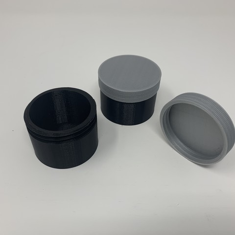 Download free 3D printing templates How I Designed a Simple Threaded Container With Autodesk Fusion 360., gzumwalt