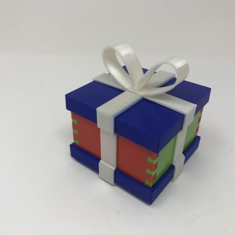 Image0018.jpg Download free STL file Simple Secret Box V:  Gift Box Edition • Model to 3D print, gzumwalt