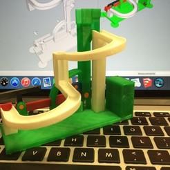 Impresiones 3D gratis Marblevator, Armado (¡pero no peligroso!), gzumwalt
