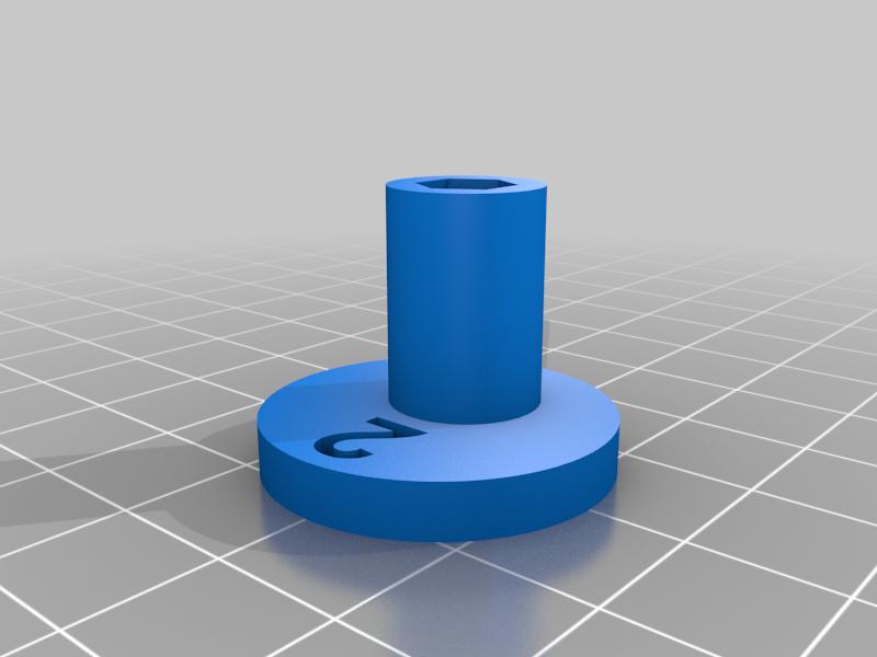 """Cam_2.png Télécharger fichier STL gratuit """"Lora et moi"""", un simple automate imprimé en 3D. • Plan à imprimer en 3D, gzumwalt"""