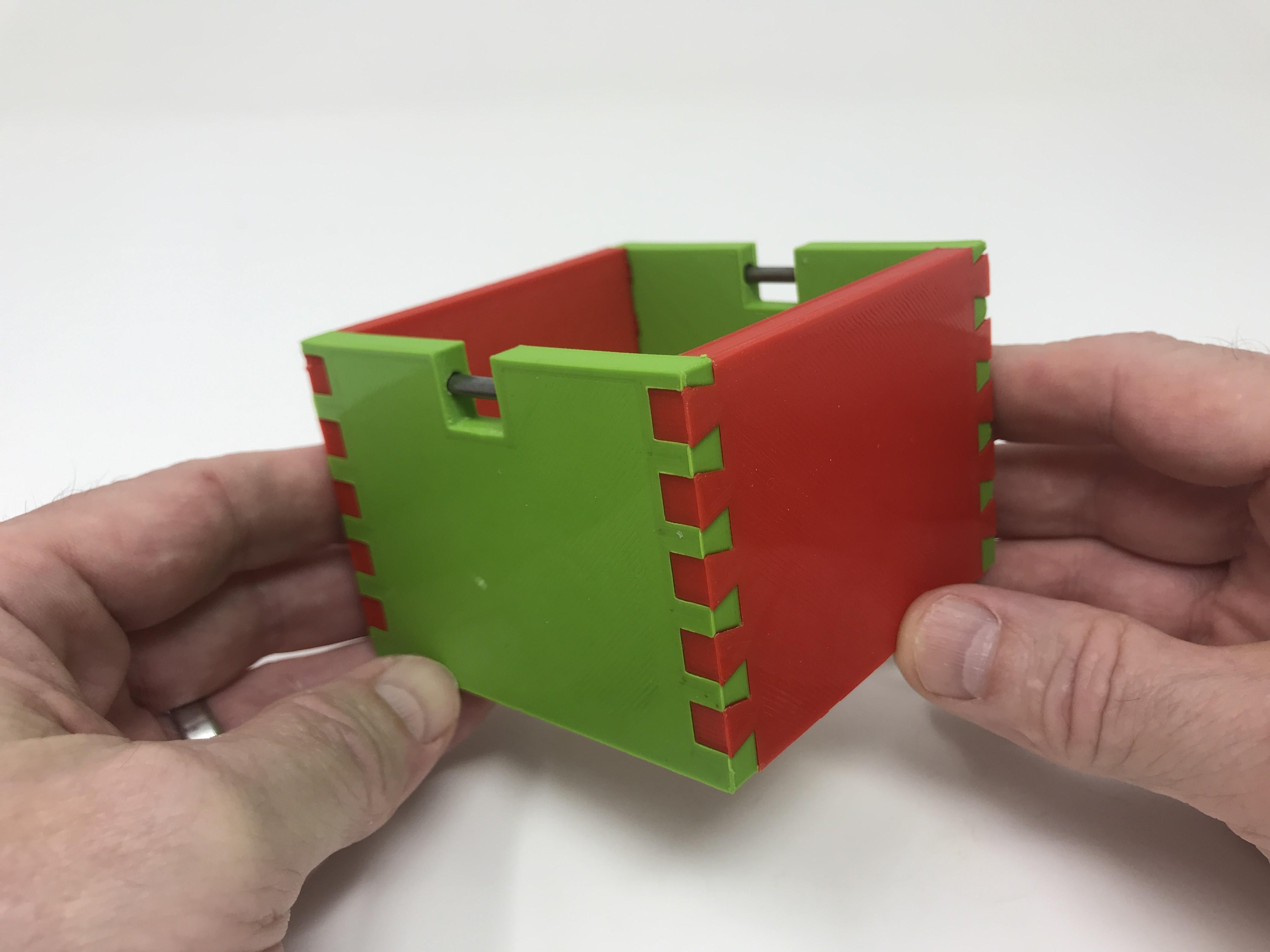Image0011.jpg Download free STL file Simple Secret Box V:  Gift Box Edition • Model to 3D print, gzumwalt