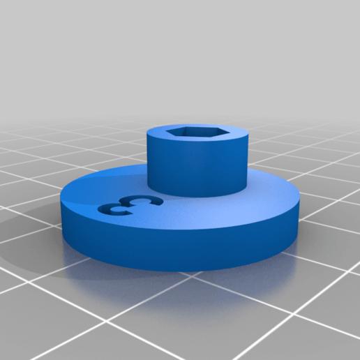 """Cam_3.png Télécharger fichier STL gratuit """"Lora et moi"""", un simple automate imprimé en 3D. • Plan à imprimer en 3D, gzumwalt"""