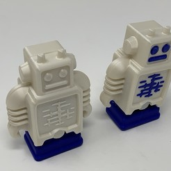 "Download free STL files Ultimaker Robot ""Pin Walker""., gzumwalt"