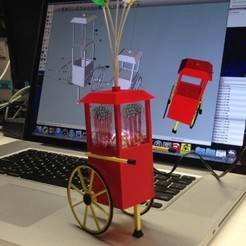 Popcorn_Cart_preview_featured.jpg Download free STL file Popcorn Cart Night Light • 3D printing object, gzumwalt