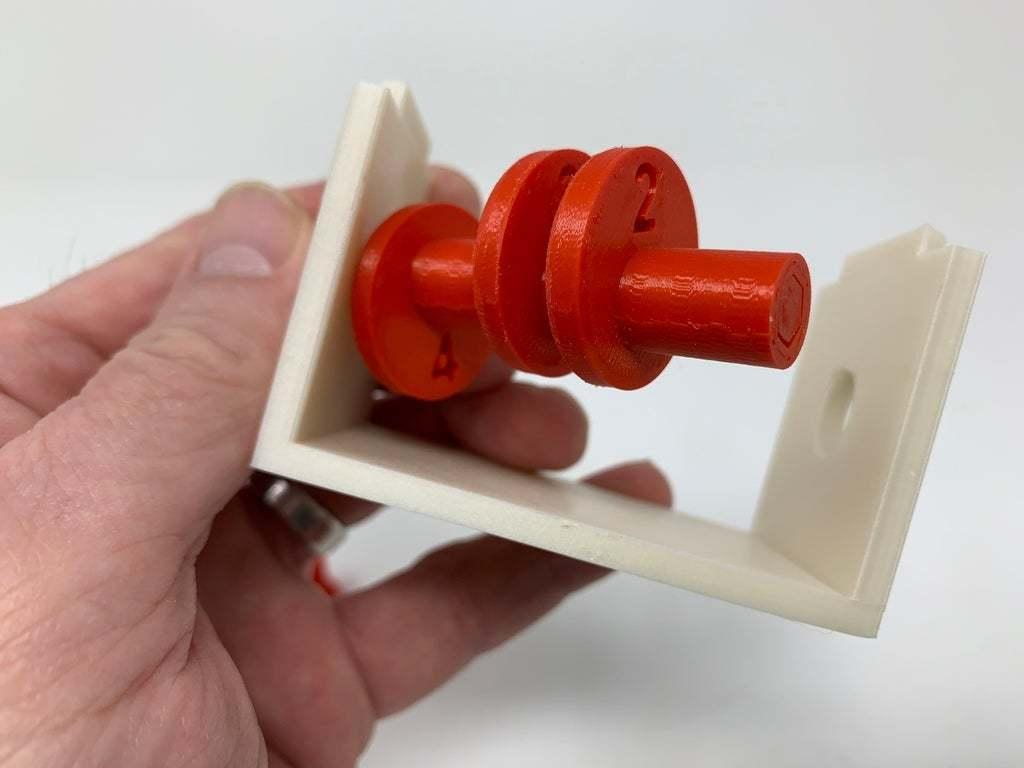 """Image0002d.JPG Télécharger fichier STL gratuit """"Lora et moi"""", un simple automate imprimé en 3D. • Plan à imprimer en 3D, gzumwalt"""