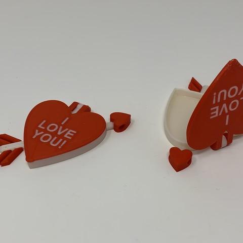 Descargar Modelos 3D para imprimir gratis Colgante de Corazón de San Valentín, gzumwalt