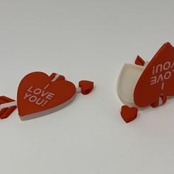 Archivos STL gratis Colgante de Corazón de San Valentín, gzumwalt