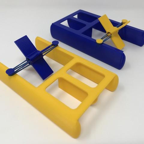 IMG_0658.jpg Download free STL file Fab Lab Tulsa Paddle Boat • 3D printer model, gzumwalt