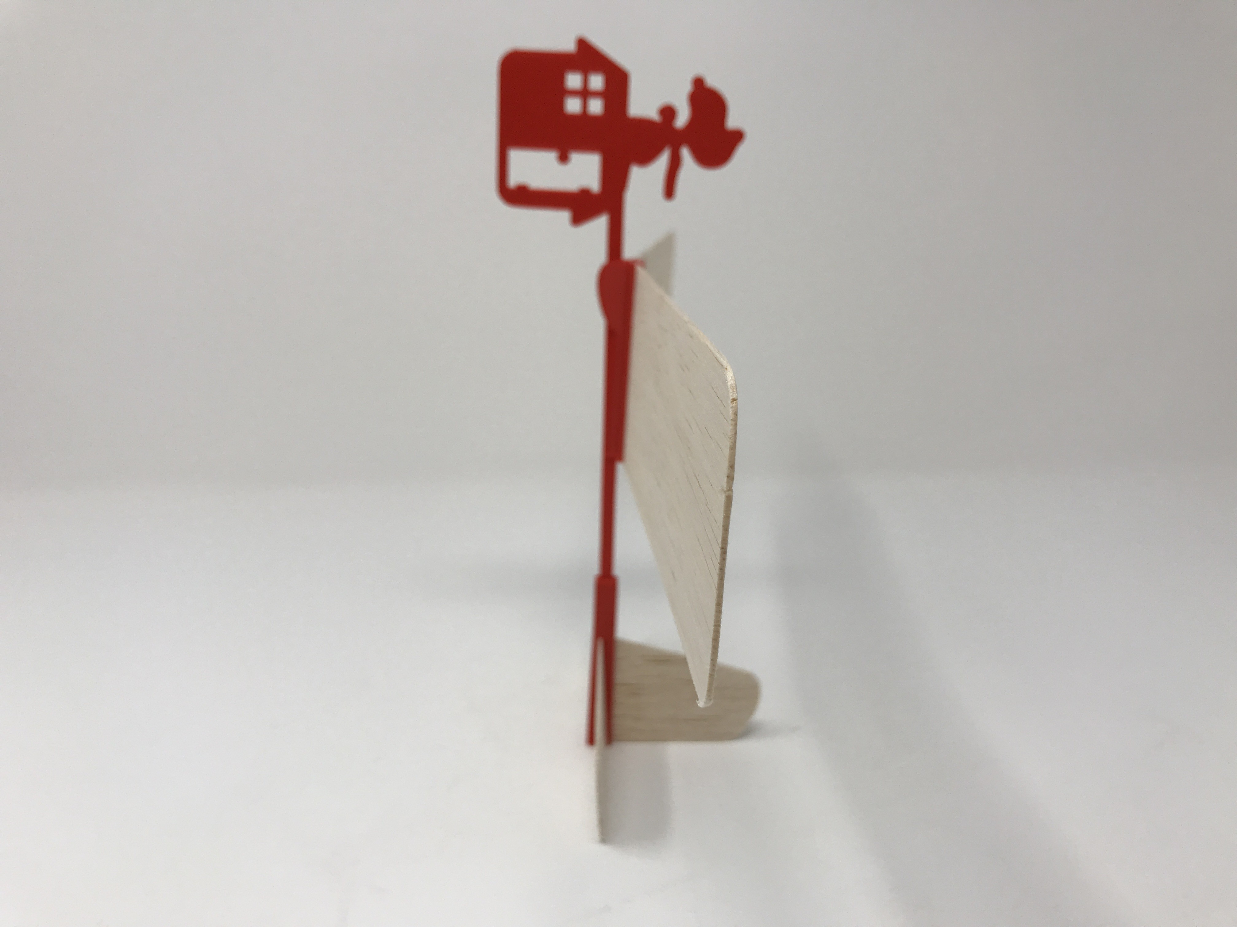 IMG_1564.jpg Download free STL file Red Baron Hand Launched Glider • 3D printer template, gzumwalt
