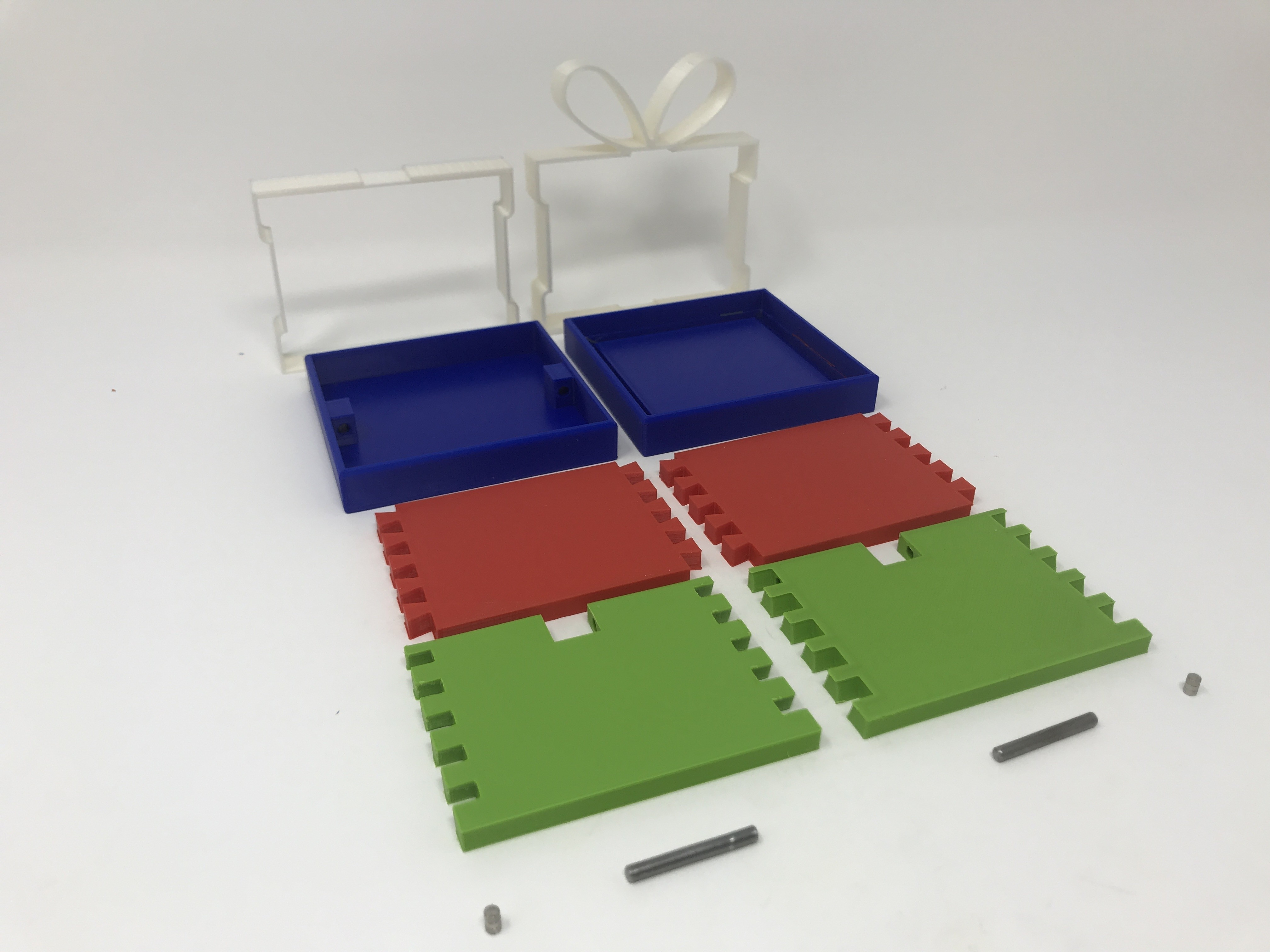 Image0002.jpg Download free STL file Simple Secret Box V:  Gift Box Edition • Model to 3D print, gzumwalt