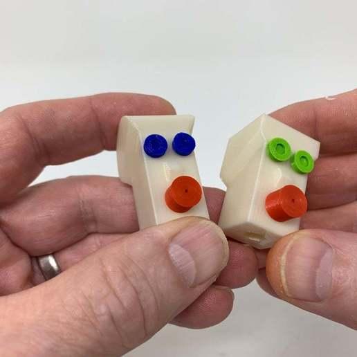 """Image0004a.JPG Télécharger fichier STL gratuit """"Lora et moi"""", un simple automate imprimé en 3D. • Plan à imprimer en 3D, gzumwalt"""