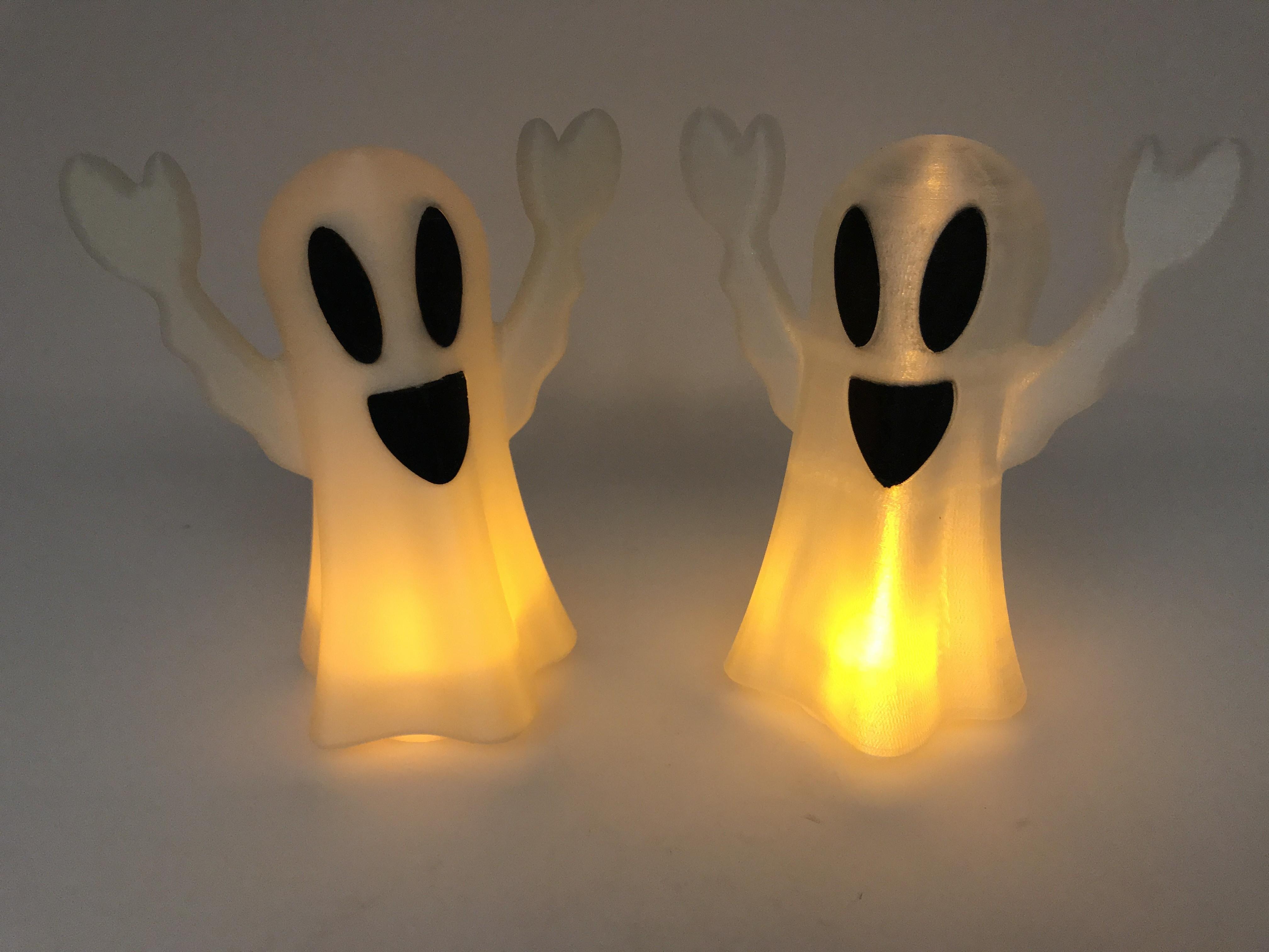 Image0002.jpg Download free STL file Tea Light Ghost Lamp • 3D printable template, gzumwalt