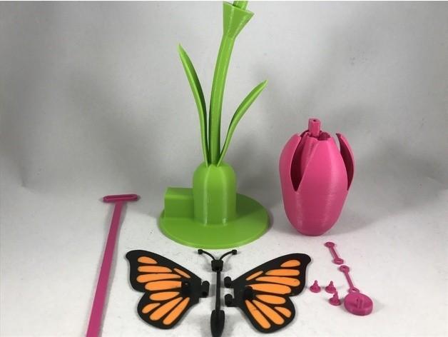 941fa675f883c56b9e8e9135f2d0427c_preview_featured.JPG Download free STL file Butterfly • 3D printer model, gzumwalt
