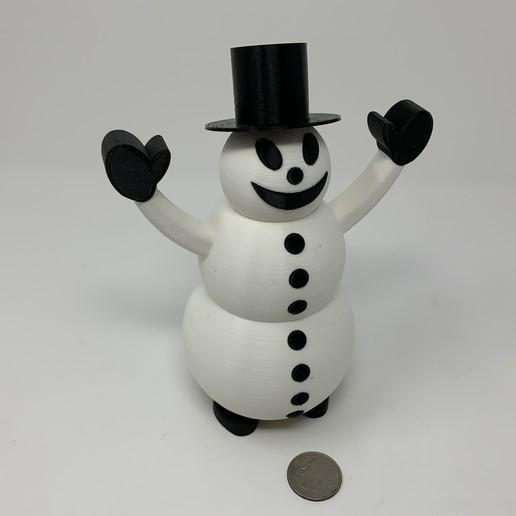 Descargar archivo 3D gratis Caminador de muñecos de nieve, gzumwalt