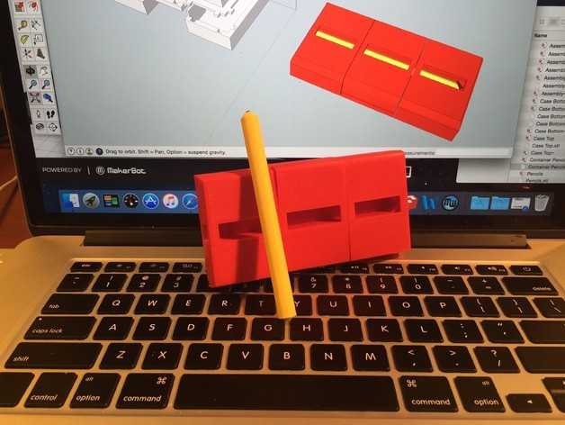 """IMG_2602_preview_featured.jpg Download free STL file """"Pencil"""" Puzzler • 3D printing design, gzumwalt"""