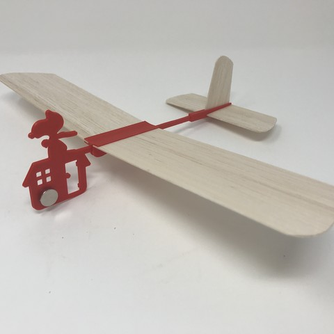 IMG_1738.jpg Download free STL file Red Baron Hand Launched Glider • 3D printer template, gzumwalt