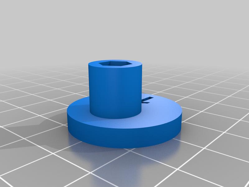 """Cam_1.png Télécharger fichier STL gratuit """"Lora et moi"""", un simple automate imprimé en 3D. • Plan à imprimer en 3D, gzumwalt"""