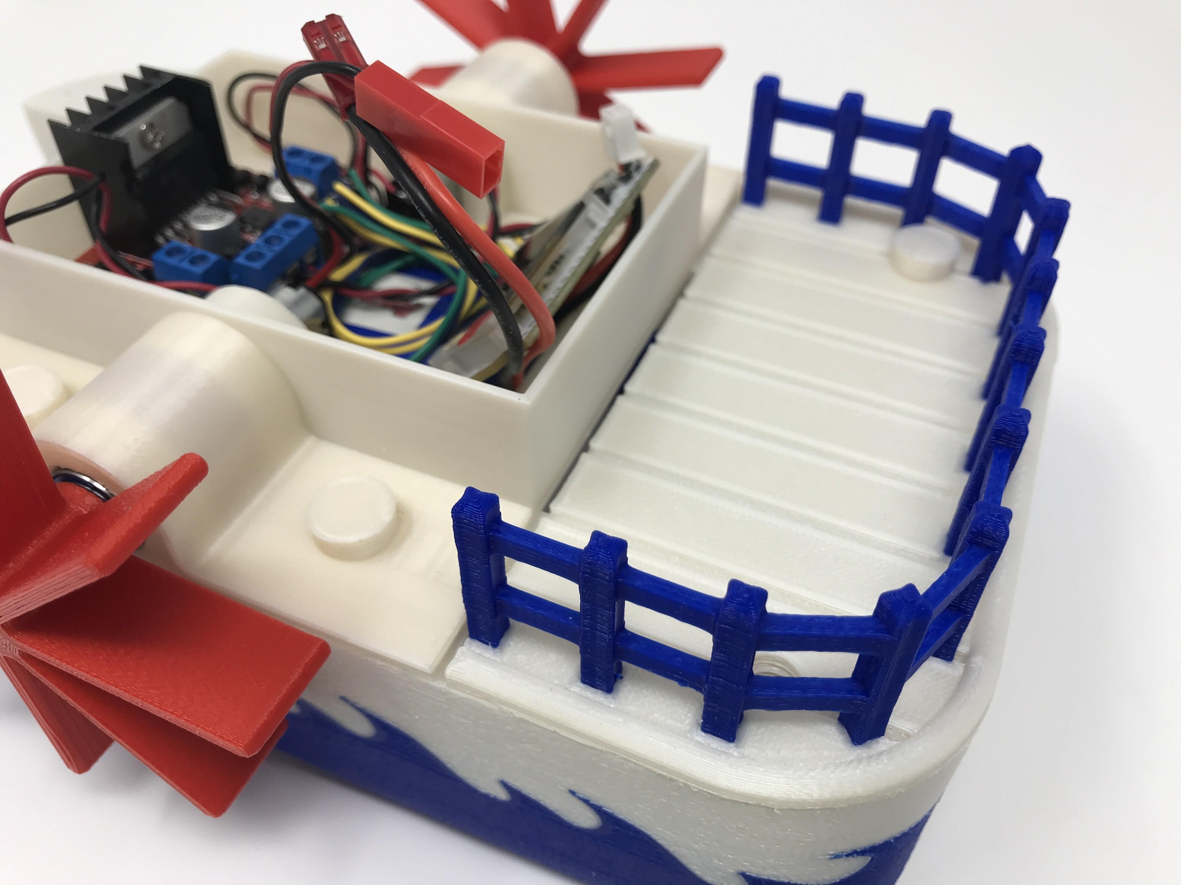IMG_0849.jpg Download free STL file WiFi Paddle Boat • 3D printing design, gzumwalt
