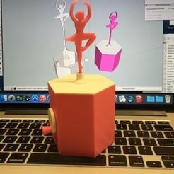 Archivos 3D gratis Bailarina, gzumwalt