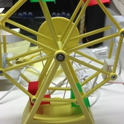 Download free 3D printer files Ferris Wheel, gzumwalt