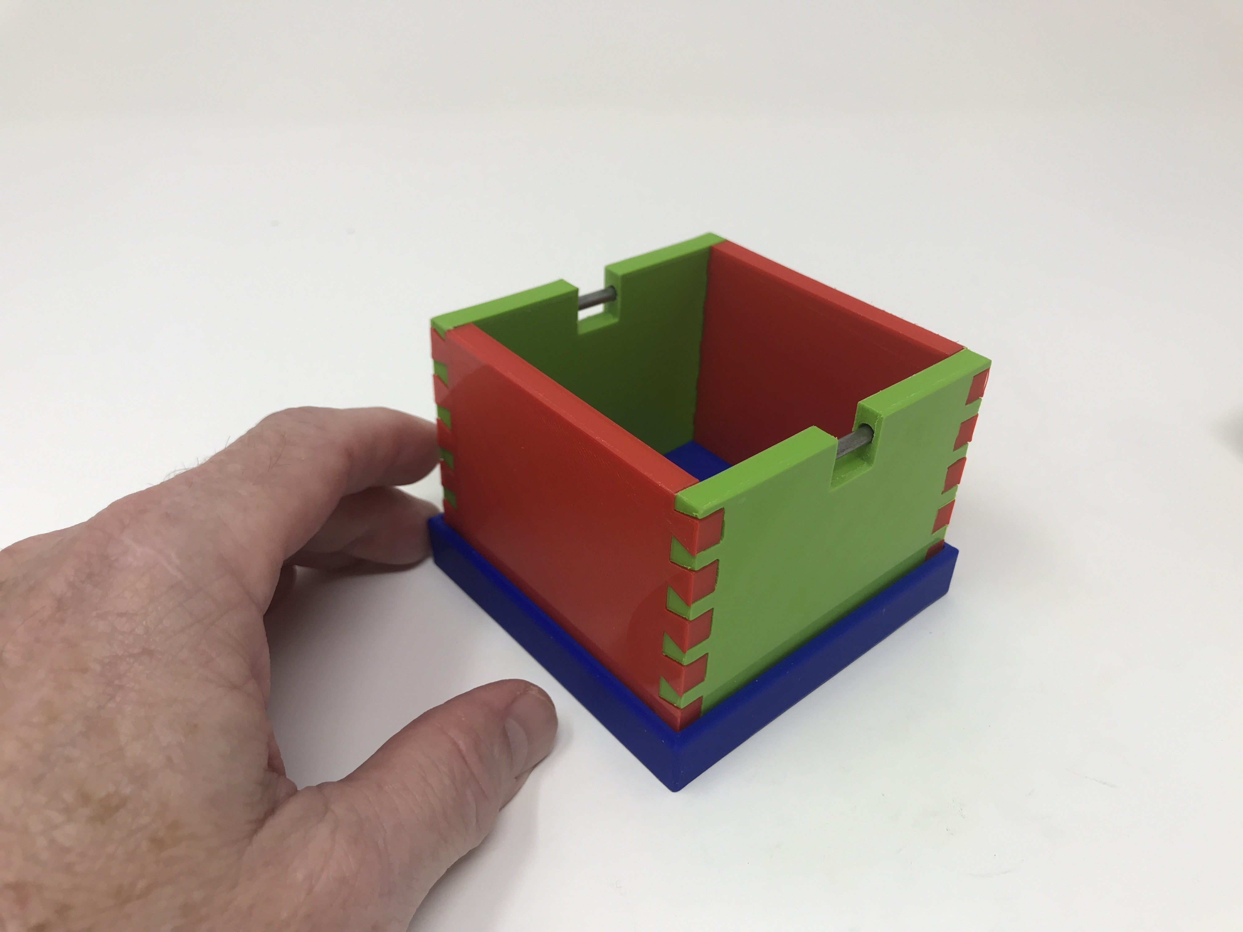 Image0015.jpg Download free STL file Simple Secret Box V:  Gift Box Edition • Model to 3D print, gzumwalt