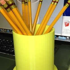 Free stl Pencil Holder, gzumwalt