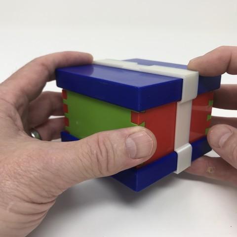 Image0016.jpg Download free STL file Simple Secret Box V:  Gift Box Edition • Model to 3D print, gzumwalt