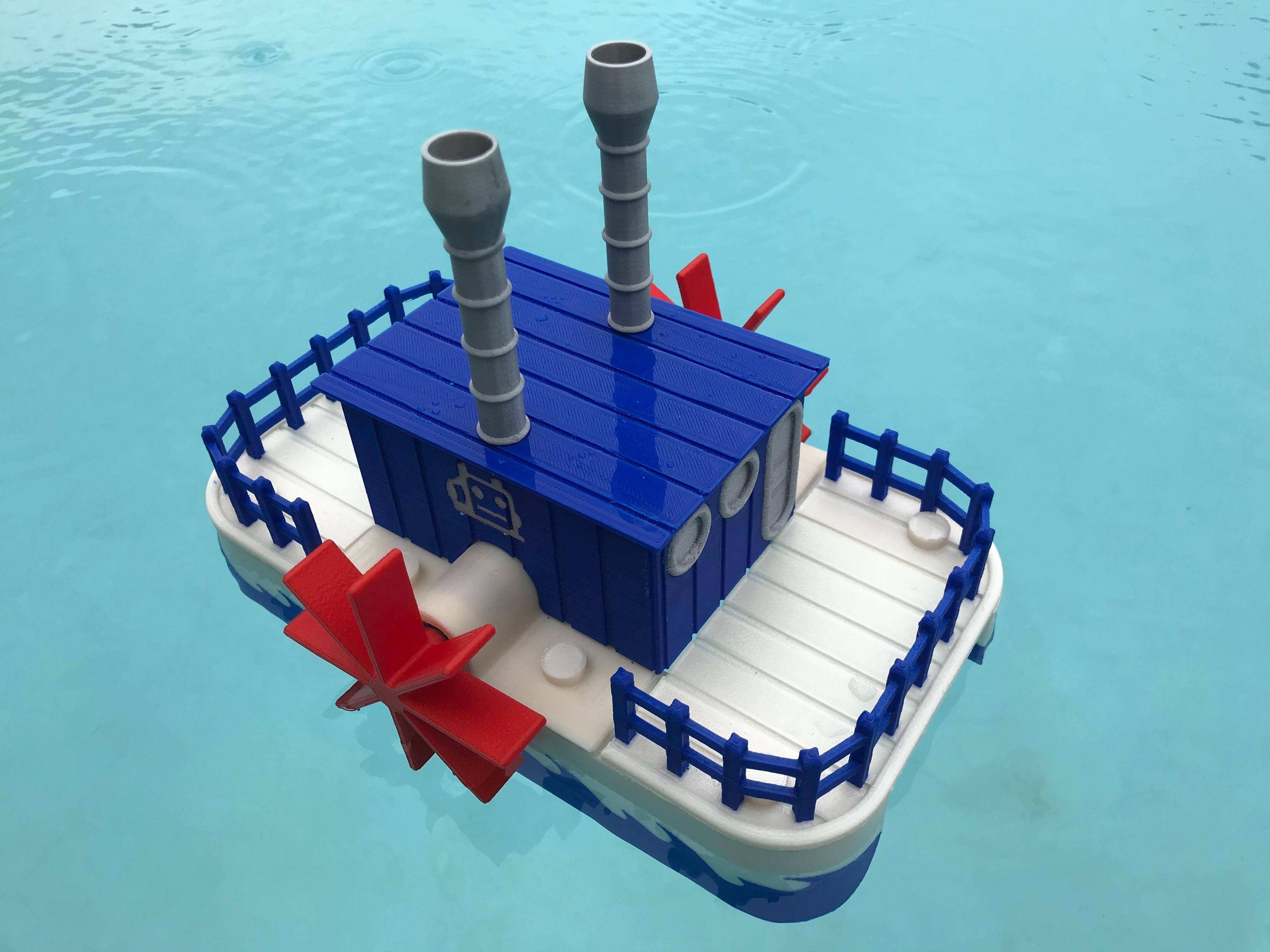 IMG_0916.jpg Download free STL file WiFi Paddle Boat • 3D printing design, gzumwalt