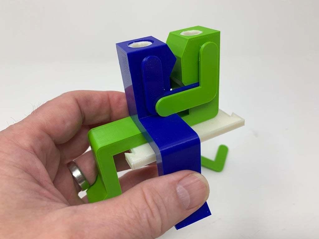 """Image0003e.JPG Télécharger fichier STL gratuit """"Lora et moi"""", un simple automate imprimé en 3D. • Plan à imprimer en 3D, gzumwalt"""