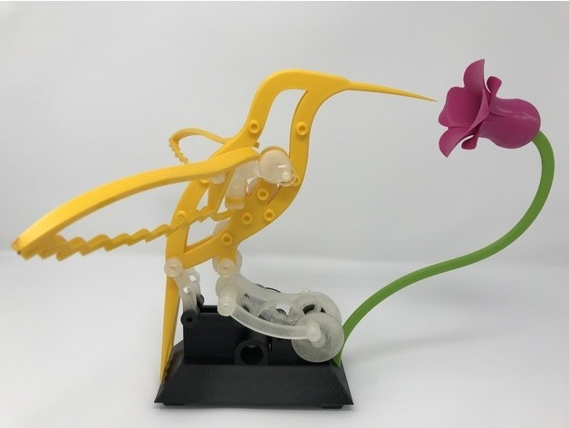 9314c96080b530ea72e2abdefffd1acd_preview_featured.jpg Download free STL file Hummingbird • 3D printing model, gzumwalt