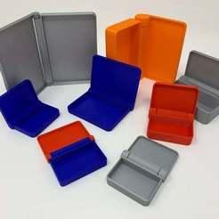 """Télécharger fichier 3D gratuit Conception d'un conteneur à charnière paramétrique """"Print in Place"""" à l'aide d'Autodesk Fusion 360, gzumwalt"""
