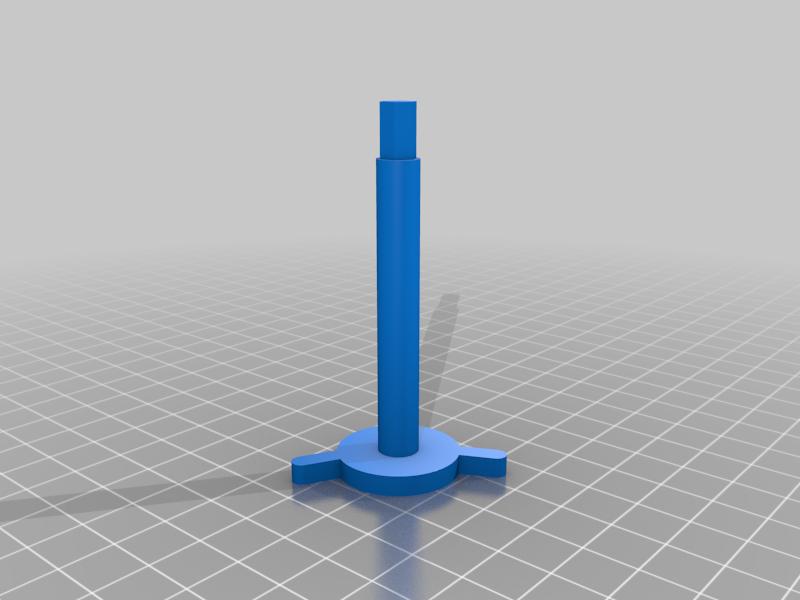 """Head_Mount.png Télécharger fichier STL gratuit """"Lora et moi"""", un simple automate imprimé en 3D. • Plan à imprimer en 3D, gzumwalt"""
