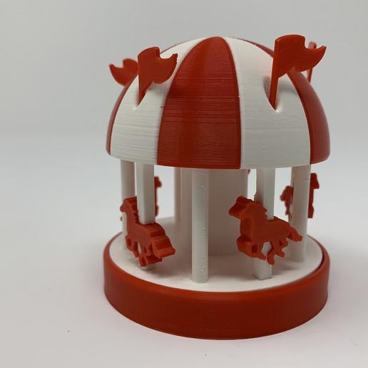 Télécharger fichier 3D gratuit Carrousel II, gzumwalt