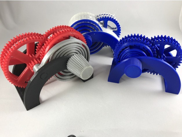 0e919ae51f53bf9124d07add785ef658_preview_featured.JPG Download free STL file PLA / PVA Spring Motor Demonstrator • 3D printing object, gzumwalt