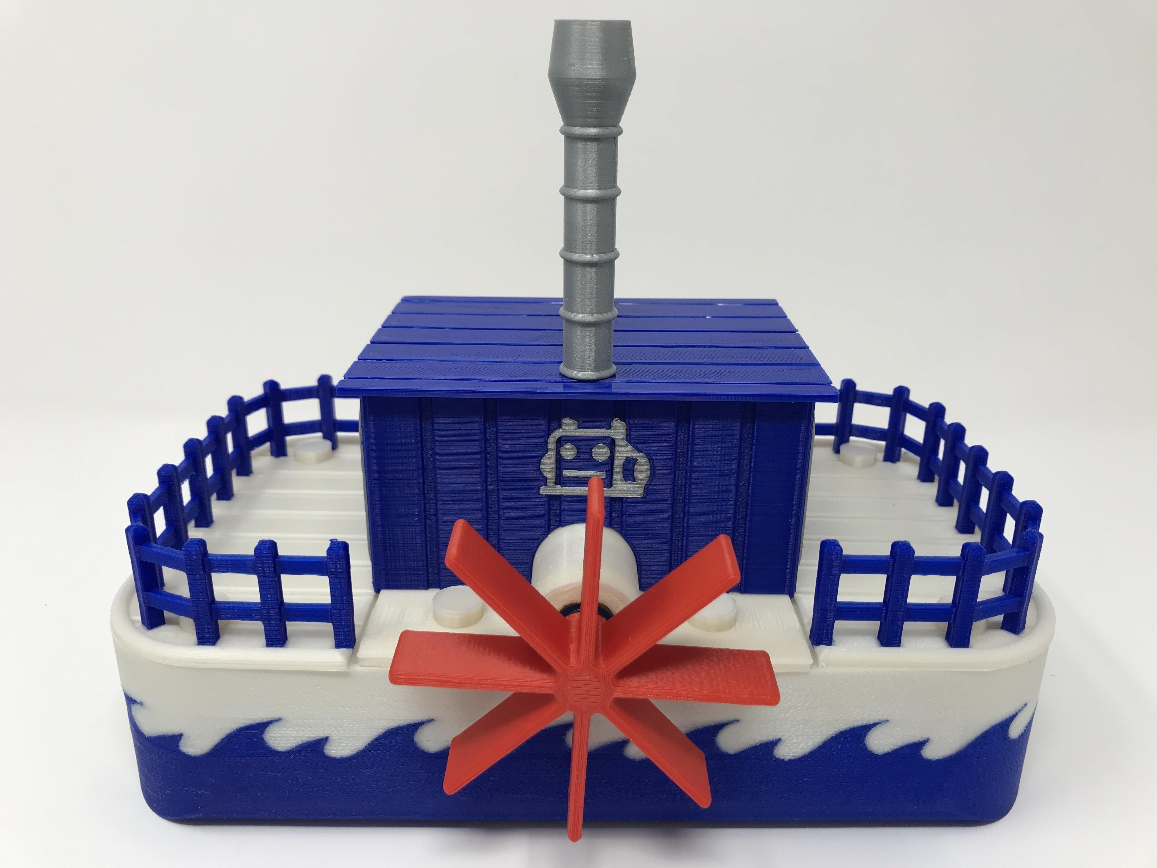 IMG_0895.jpg Download free STL file WiFi Paddle Boat • 3D printing design, gzumwalt