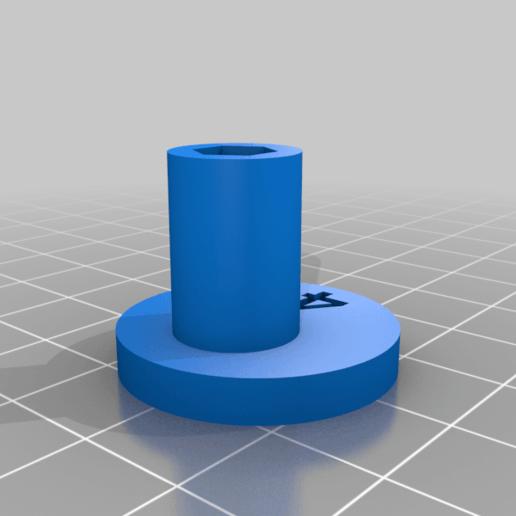 """Cam_4.png Télécharger fichier STL gratuit """"Lora et moi"""", un simple automate imprimé en 3D. • Plan à imprimer en 3D, gzumwalt"""