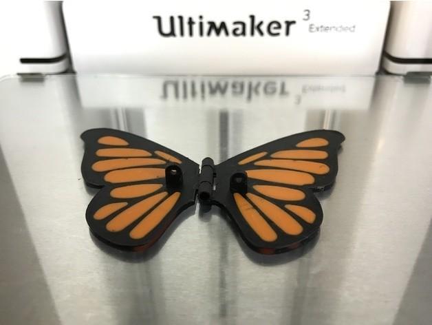 e90a7fb968d249fdb6b4d717d0e96d4d_preview_featured.JPG Download free STL file Butterfly • 3D printer model, gzumwalt