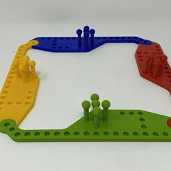 "Image0001a.JPG Download free STL file 3D Printed ""Pegs And Jokers"" Game. • 3D printable template, gzumwalt"