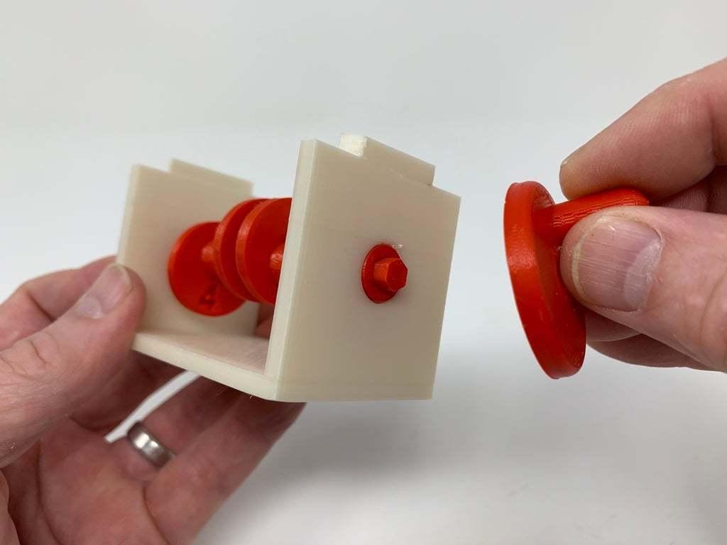 """Image0002f.JPG Télécharger fichier STL gratuit """"Lora et moi"""", un simple automate imprimé en 3D. • Plan à imprimer en 3D, gzumwalt"""