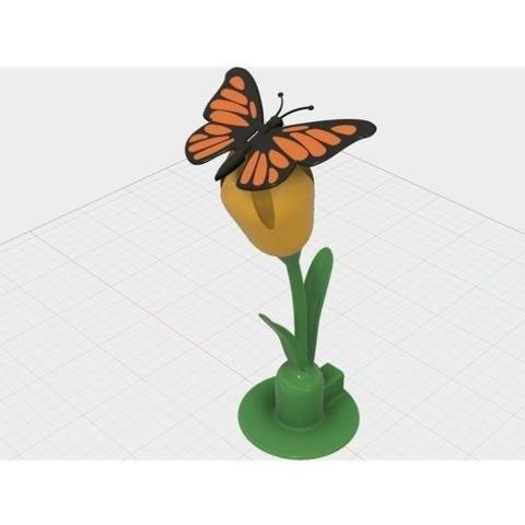 789d2e193024afbfdc07996b71a0fee8_preview_featured.jpg Download free STL file Butterfly • 3D printer model, gzumwalt