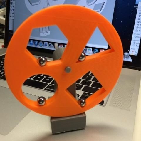 Fichier 3D gratuit Roue géométrique, gzumwalt