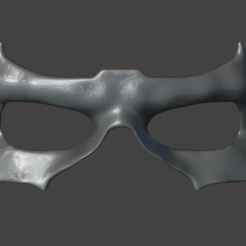 mask front.PNG Download STL file TITANS Nightwing Mask • 3D print template, StarLord