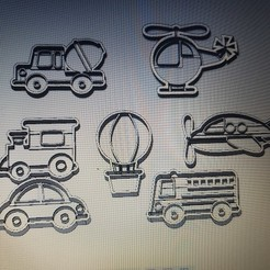 3D printer file COLLECTION OF CARS, AIRPLANES AND TRANSPORTATION, arprint3d