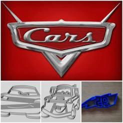 Modelos 3D para imprimir CARS SET COOKIE CUTTER, arprint3d