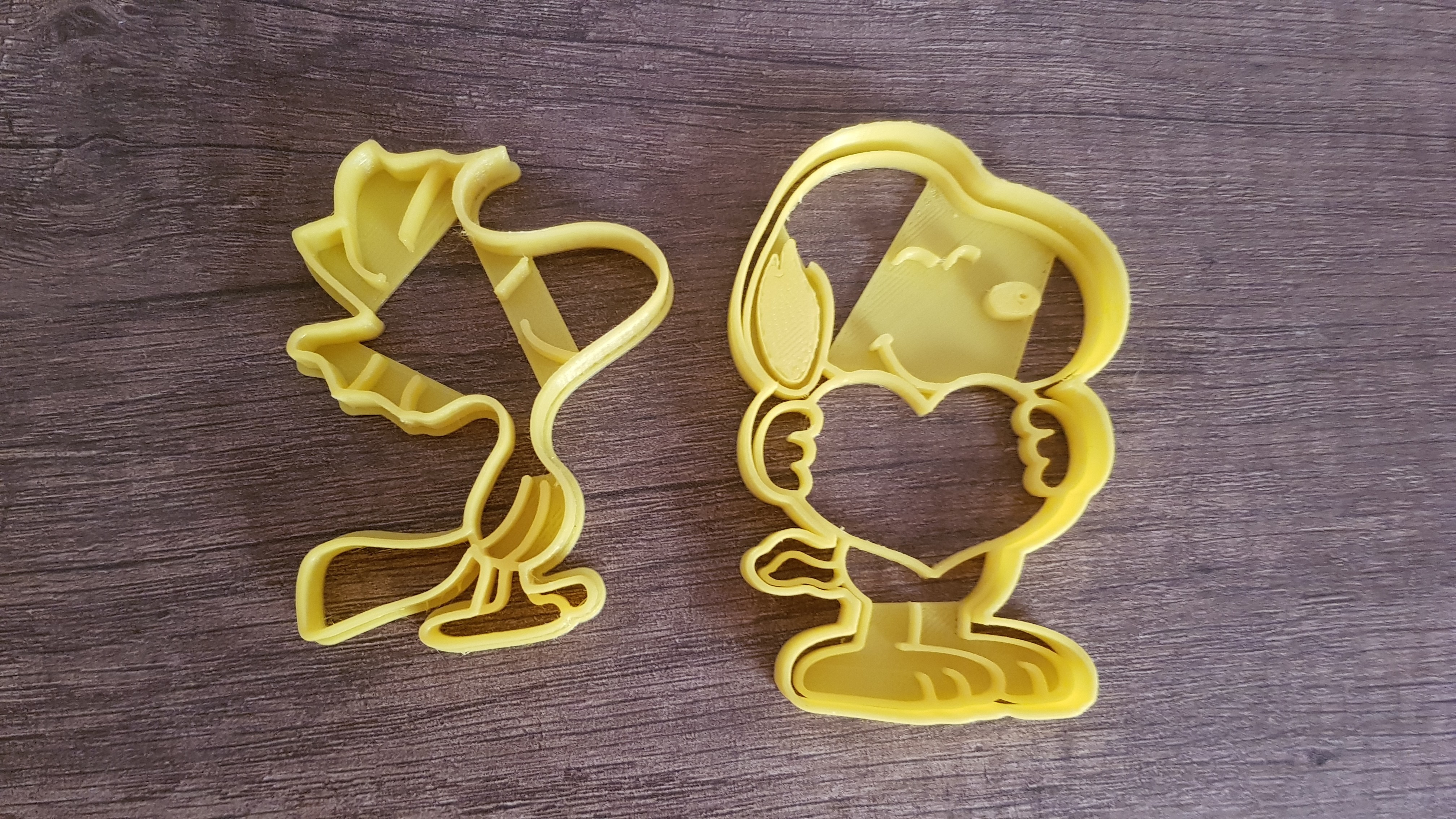 20181006_185036.jpg Download STL file Snoopy x2 cookie cutter • 3D printer template, arprint3d