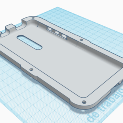 1.png Télécharger fichier STL Affaire à fort impact Xiaomi Mi 9 t / Redmi K20 • Modèle pour imprimante 3D, Print-T3D