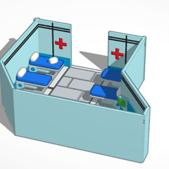 t725.png Download free STL file Área Médica Among Us • 3D printing template, JONATHAN11JC