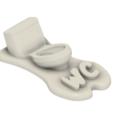 Download 3D printing designs WC Sign, Tomshik3D