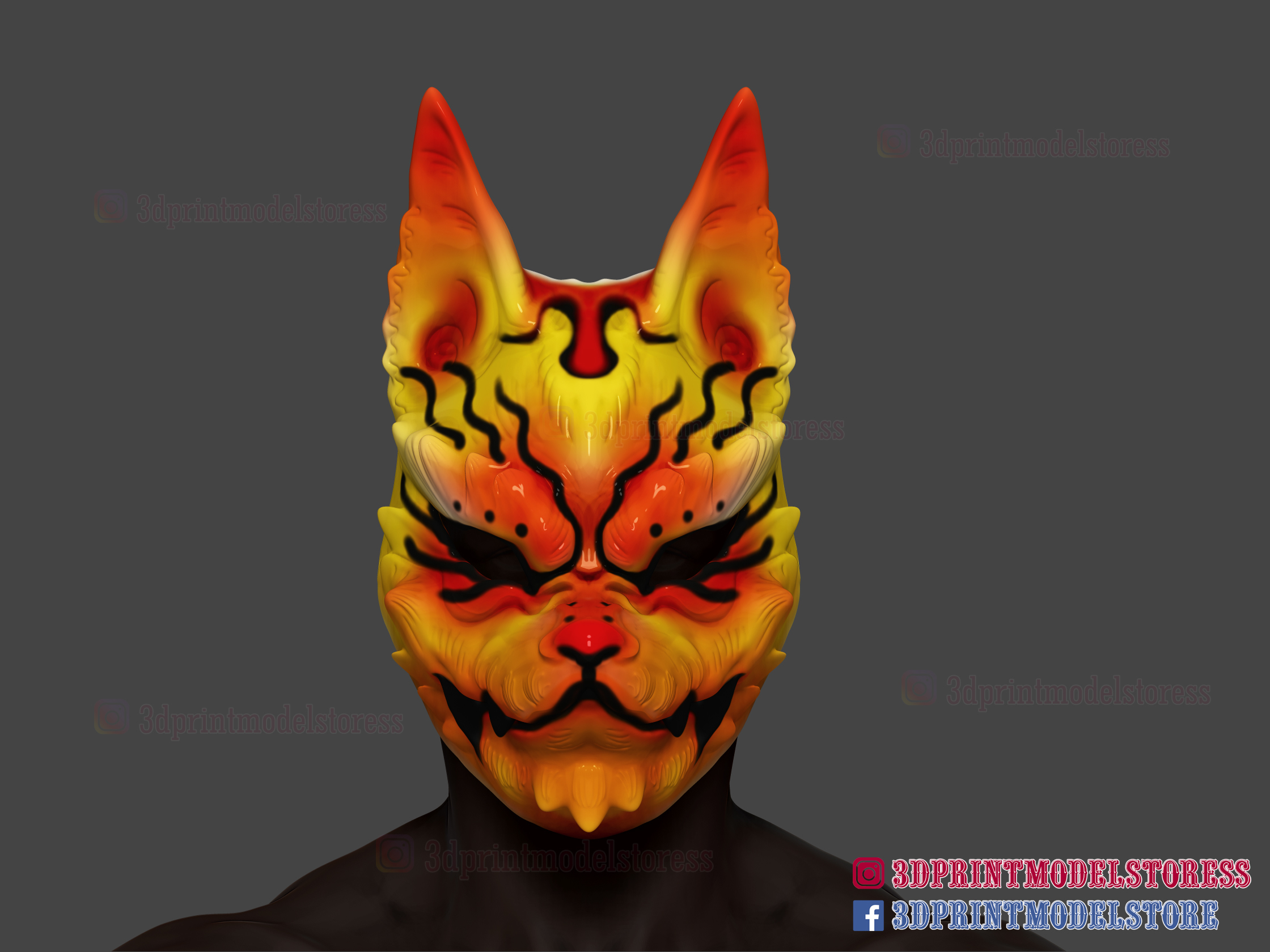 It's just an image of Fox Mask Printable in cut out