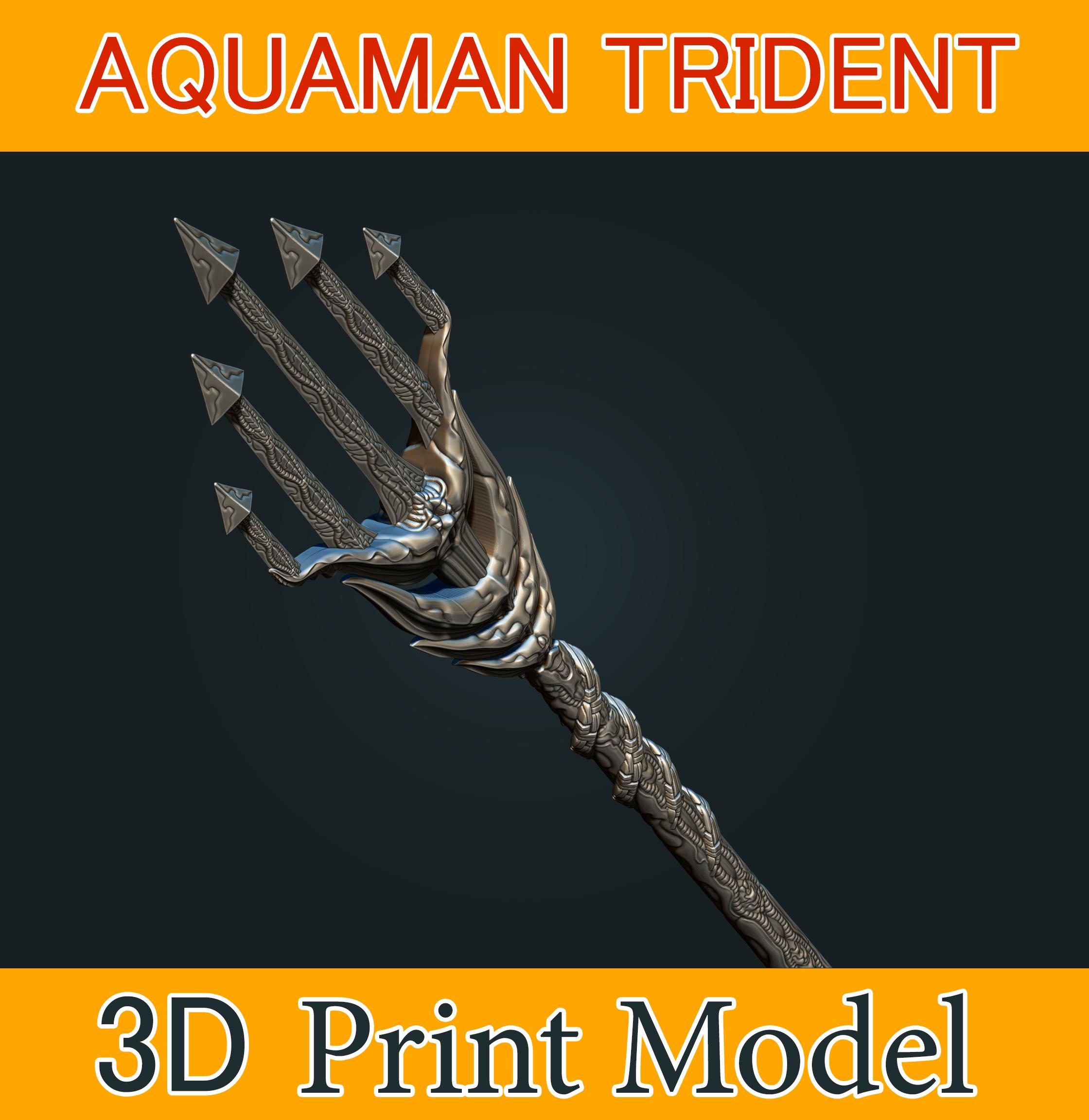 aquaman_weapon_stl_05b.png Download STL file Aquaman Trident Cosplay STL files - Costume Weapons 3D Printing • 3D printing design, 3DPrintModelStoreSS